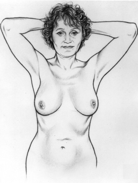 Breast Self Examination-Step 2