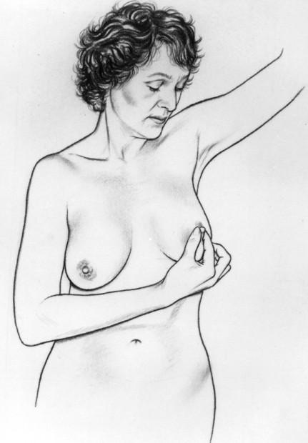 Breast Self Examination-Step 3
