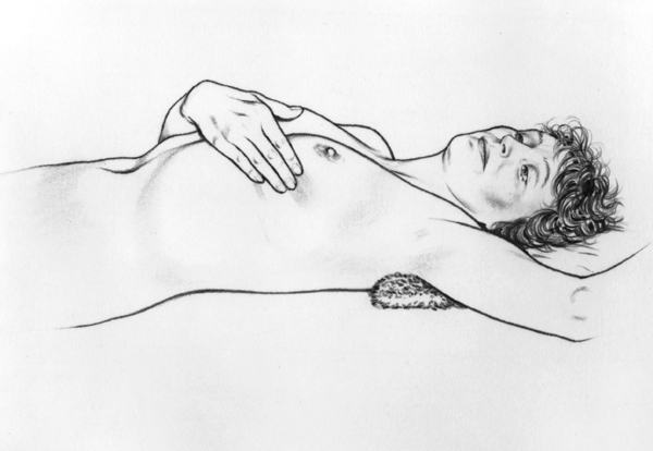 Breast Self Examination-Step 4