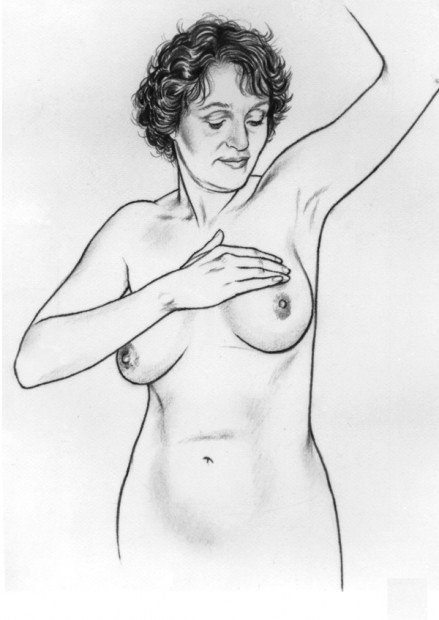 Breast Self Examination-Step 5