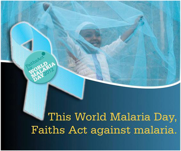 25th April – World Malaria Day, Faiths Act against Malaria