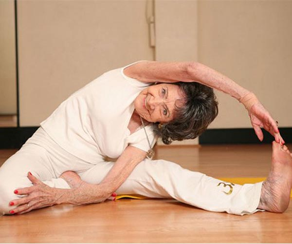 Guinness World Records: A 93 Year Old Woman Named the World's Oldest Yoga Teacher