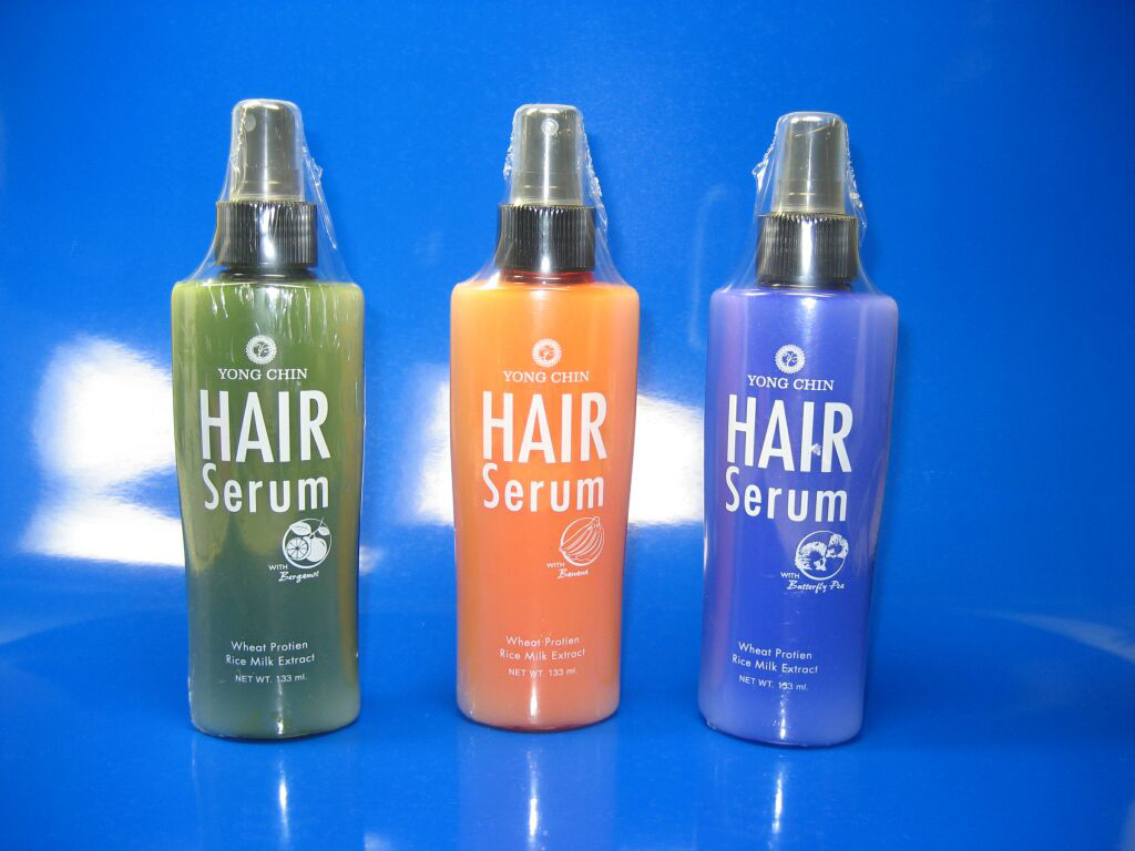 Hair serum products